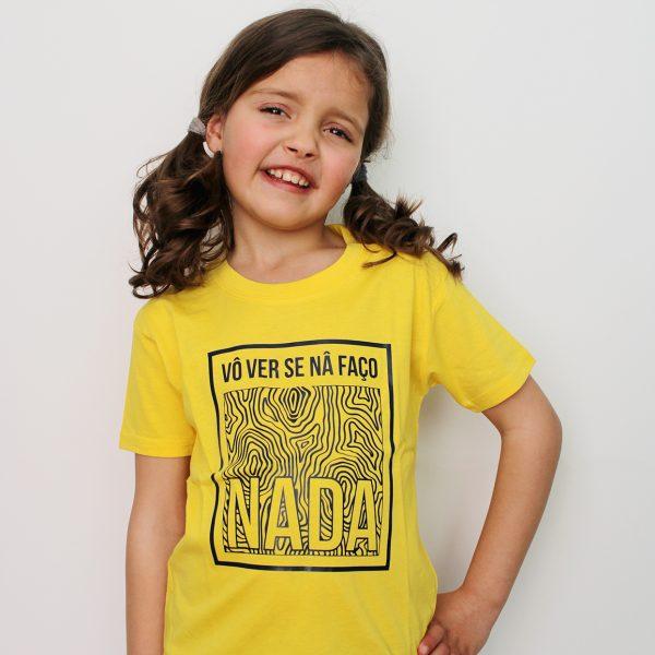 T-shirt Faço Nada Criança