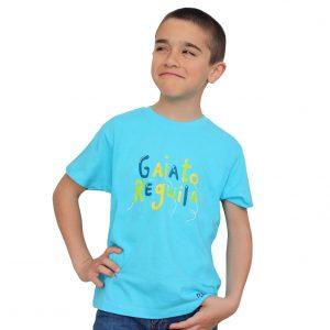 t-shirt criança gaiato reguila balões