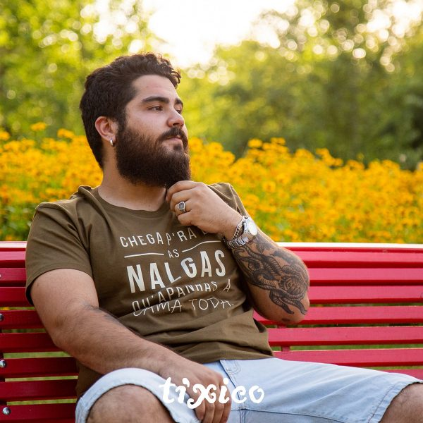 t-shirt nalgas coleção alentejanices, algodão adulto