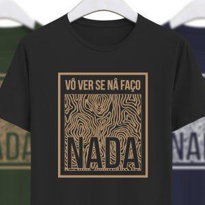 foto da tshirt na faço nada em preto da colecção alentejanices