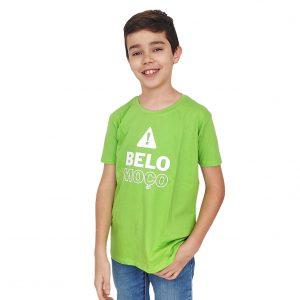 t-shirt belo moço verde maçã TI'XICO